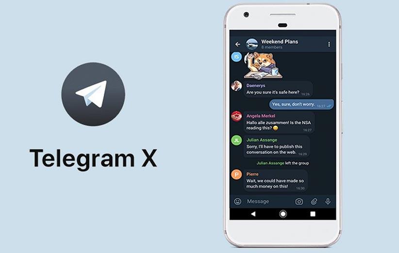 تلگرام ایکس، تلگرامی از آینده