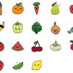 استیکر میوه برای تلگرام